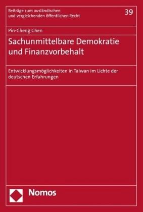 Sachunmittelbare Demokratie und Finanzvorbehalt