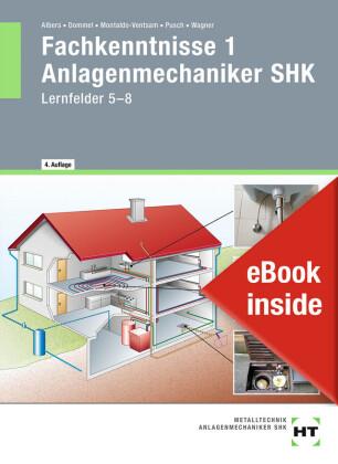 Fachkenntnisse 1 Anlagenmechaniker SHK, m. eBook
