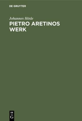 Pietro Aretinos Werk