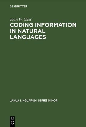 Coding information in natural languages