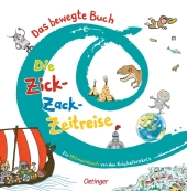 Das bewegte Buch - Die Zick-Zack-Zeitreise Cover