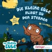 Die kleine Eule fliegt zu den Sternen, 1 Audio-CD Cover