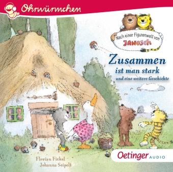 Sonstige Spielzeug-Artikel Janosch Tiger Bär sein wollte CD Fickel