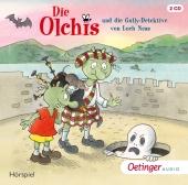 Die Olchis und die Gully-Detektive von Loch Ness, 2 Audio-CDs