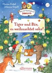 Tiger und Bär, es weihnachtet sehr! Cover