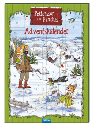 """Magnet-Adventskalender """"Pettersson & Findus"""""""