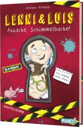 Lenni und Luis - Attacke, Schimmelbacke! Cover