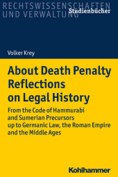 About Death Penalty. Reflections on Legal History