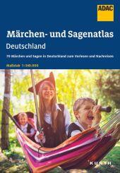 ADAC Märchen- und Sagenatlas Deutschland Cover
