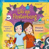 Lilo von Finsterburg - Zaubern verboten! - Plötzlich Stinktier!, 1 Audio-CD Cover