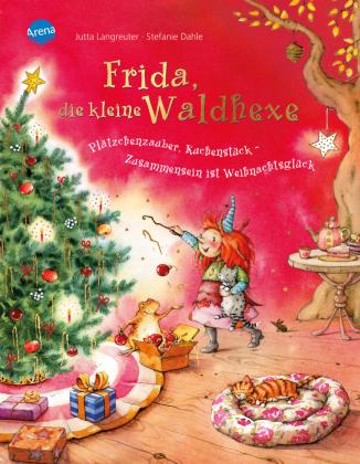 Frida, die kleine Waldhexe - Plätzchenzauber, Kuchenstück, Zusammensein ist Weihnachtsglück