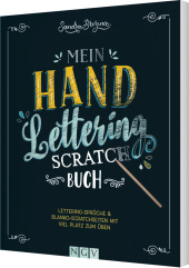 Mein Handlettering Scratch Buch, m. Holz-Stick Cover