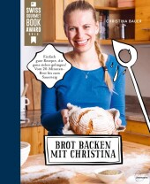 Brot backen mit Christina Cover