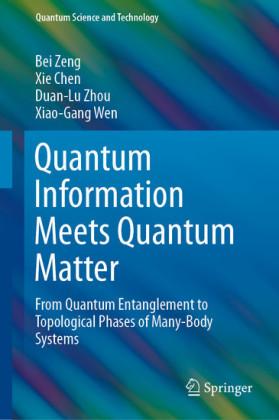 Quantum Information Meets Quantum Matter