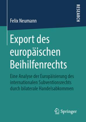 Export des europäischen Beihilfenrechts