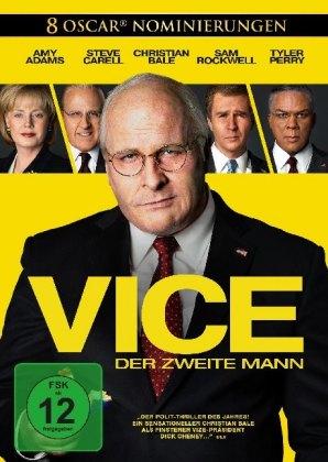 Vice - Der zweite Mann, 1 DVD