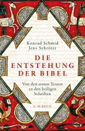 Die Entstehung der Bibel Cover