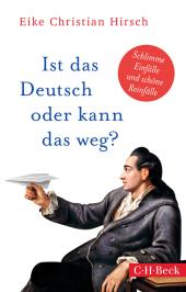 Ist das Deutsch oder kann das weg? Cover