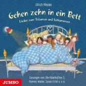 Gehen zehn in ein Bett, 1 Audio-CD Cover