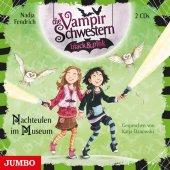 Die Vampirschwestern black & pink - Nachteulen im Museum, 2 Audio-CDs
