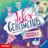 Leles Geheimclub - Keine Kings im Hauptquartier!, 1 Audio-CD Cover