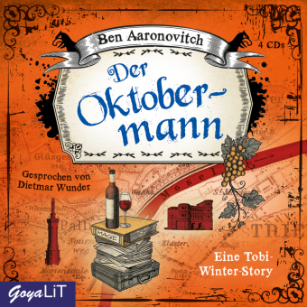 Der Oktobermann, 3 Audio-CDs