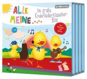 Alle meine Kinderlieder-Klassiker-Box, 4 Audio-CDs