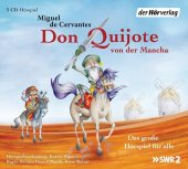 Don Quijote von der Mancha, 3 Audio-CDs Cover