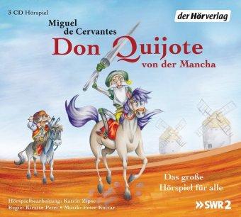 Don Quijote von der Mancha, 3 Audio-CDs