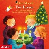 Vier Kerzen. Poetischer Liederspaß für die Advents- und Winterzeit, 1 Audio-CD Cover