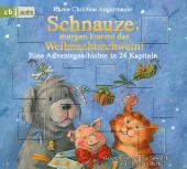 Schnauze, morgen kommt das Weihnachtsschwein!, 1 Audio-CD Cover