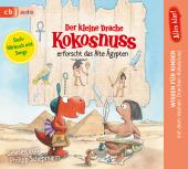 Der kleine Drache Kokosnuss erforscht das Alte Ägypten, 1 Audio-CD Cover