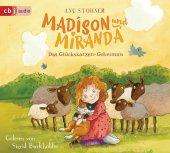Madison und Miranda - Das Glückskatzen-Geheimnis, 1 Audio-CD Cover