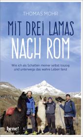 Mit drei Lamas nach Rom Cover
