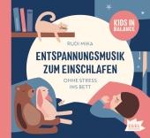 Kids in Balance. Entspannungsmusik zum Einschlafen, 1 Audio-CD Cover
