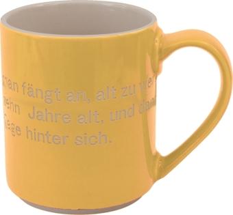 Astrid Lindgren-Helden. Becher Tasse gelb