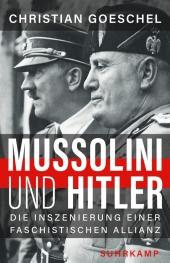Mussolini und Hitler Cover