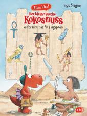 Alles klar! Der kleine Drache Kokosnuss erforscht das Alte Ägypten Cover