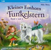 Kleines Einhorn Funkelstern, 1 Audio-CD Cover