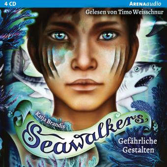 Seawalkers - Gefährliche Gestalten, 4 Audio-CDs