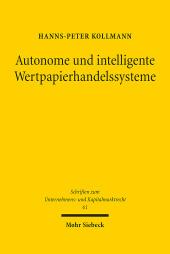 Autonome und intelligente Wertpapierhandelssysteme