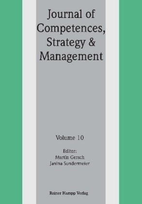 Journal of Competences, Strategy & Management