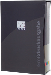 Elberfelder Bibel, Großdruckausgabe, 4 Bde.