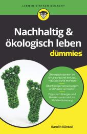 Nachhaltig & ökologisch leben für Dummies Cover