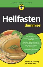 Heilfasten für Dummies Cover