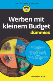 Werben mit kleinem Budget für Dummies Cover
