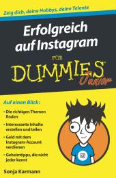 Erfolgreich auf Instagram für Dummies Junior Cover