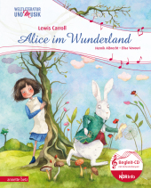 Alice im Wunderland, m. Audio-CD Cover