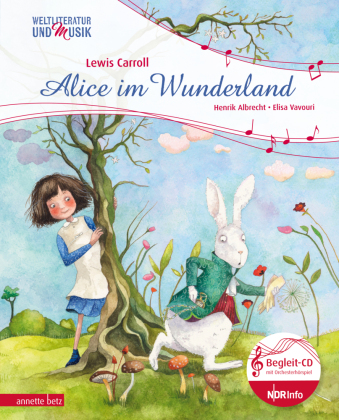 Alice im Wunderland, m. Audio-CD