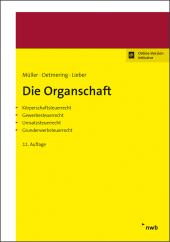 Die Organschaft, m. 1 Buch, m. 1 Online-Zugang